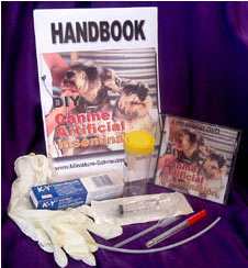 Breeders' Canine Artificial Insemination Kit